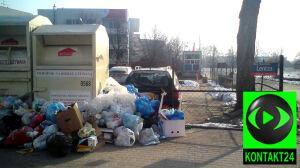 Góra śmieci w Wilanowie