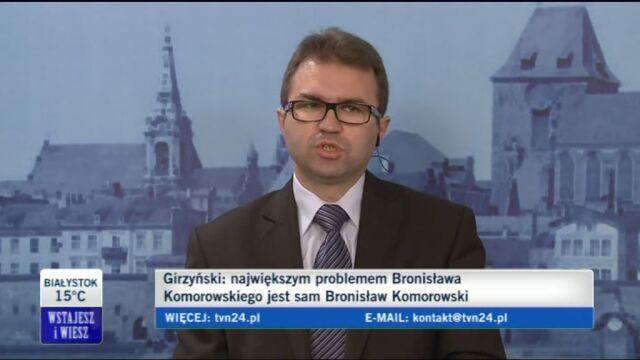 Girzyński: NBP za RPO