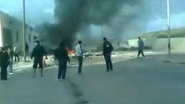 Protesty w Libii