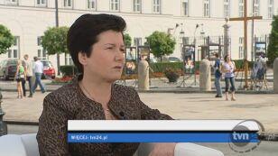 Hanna Gronkiewicz-Waltz o spełnianiu wyborczych obietnic (TVN24)