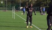 Trening Arsenalu przed meczem 3. kolejki fazy grupowej Ligi Europy