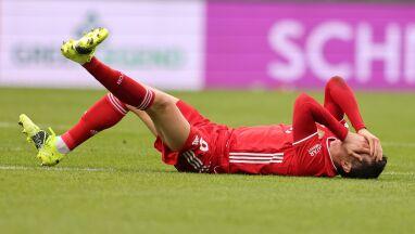 Lewandowski ma problem z kolanem. Co z meczami w Bayernie i rekordem Muellera?