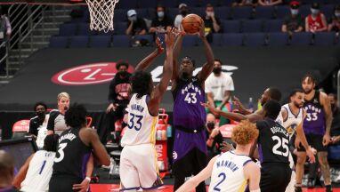 Rekordowo wysokie zwycięstwo Toronto Raptors