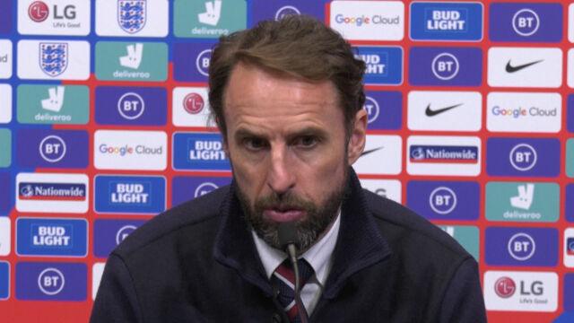 Southgate po meczu Anglia – Polska