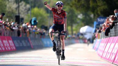 Piękny triumf Dana Martina. Pierwszy kryzys lidera Giro d'Italia