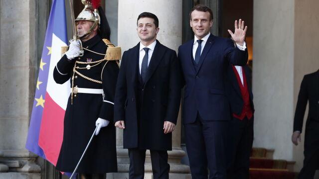 Putin i Zełenski w cztery oczy. Ruszył szczyt w Paryżu