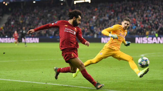 """Kąt niemal zerowy, dla Salaha to nie problem. """"Nie mam pojęcia, jak to zrobił"""""""