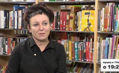 """Wywiad z Olga Tokarczuk w środę """"Faktach po Faktach"""""""