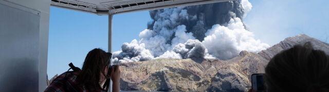 """Erupcja wulkanu White. """"Nie stwierdzono oznak życia"""", los wielu zaginionych nieznany"""