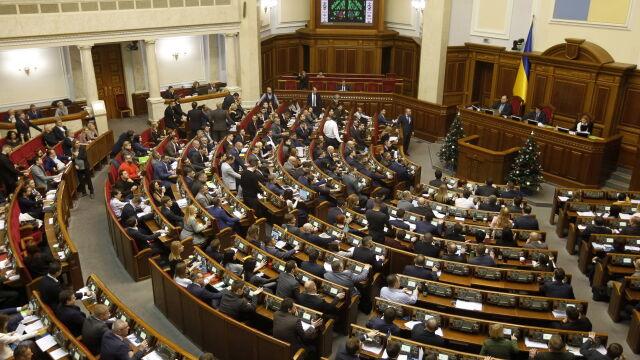 Parlament Ukrainy przedłużył ustawę,  o której