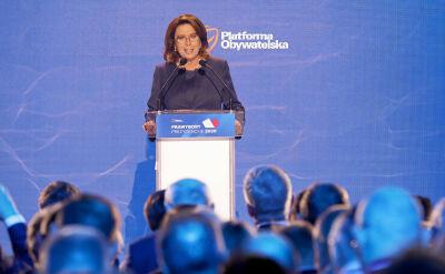 Kidawa-Błońska kandydatką Platformy Obywatelskiej na prezydenta