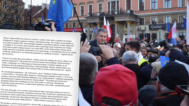 """""""Przywódcom partii rządzącej marzy się system PRL-owski"""""""
