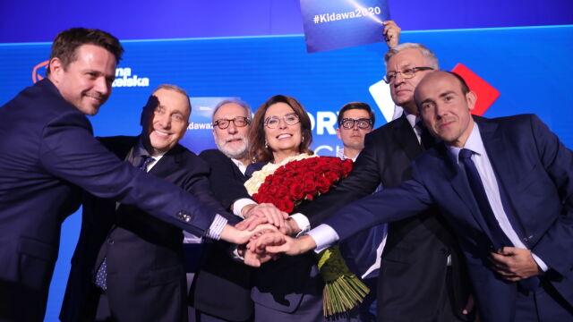 Małgorzata Kidawa-Błońska kandydatką Platformy Obywatelskiej na prezydenta