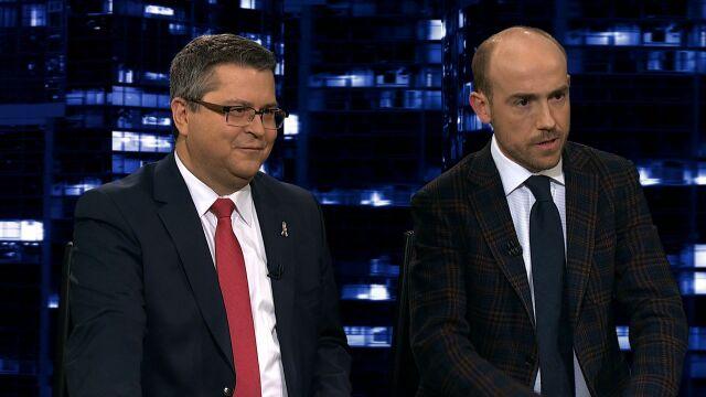 """Borys Budka i Jarosław Dudzicz byli gośćmi """"Kropki nad i"""""""