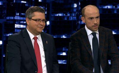 """Borys Budka i Jarosław Dudzicz w """"Kropce nad i"""". Cała rozmowa"""