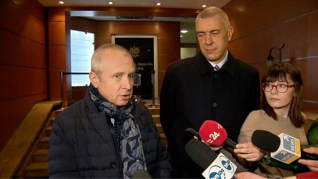 Mecenas Jacek Dubois komentuje przebieg przesłuchania