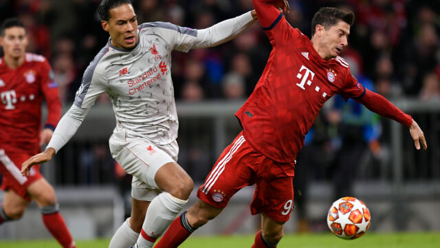 Bayern za słaby na Liverpool. Liga Mistrzów bez Lewandowskiego