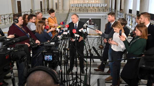 Schetyna przedstawił nazwiska polityków PO, którzy będą kandydować do PE z list Koalicji Europejskiej