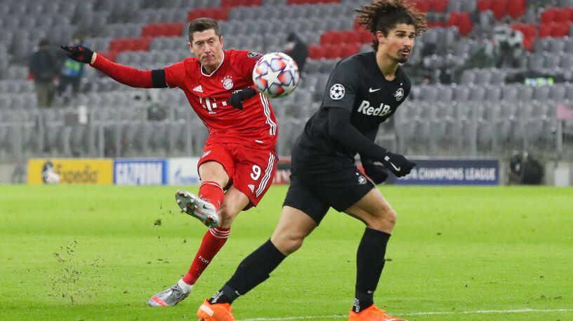 Lewandowski z golem, Bayern już ma awans