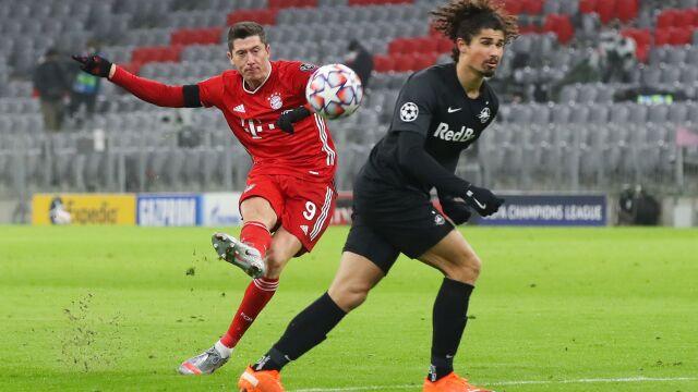Lewandowski strzelił i dogonił legendę. Bayern z awansem w Lidze Mistrzów