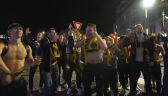 Piłkarze Bodo/Glimt świętowali tytuł przed hotelem. Przyjechali dla dwóch kolegów z zespołu
