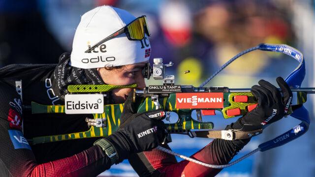 Sensacyjny triumfator inauguracyjnych zawodów. Polscy biathloniści zawiedli