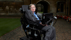 S = kc^3 A / 4ℏG i czarna dziura na rewersie.  Stephen Hawking uhonorowany monetą