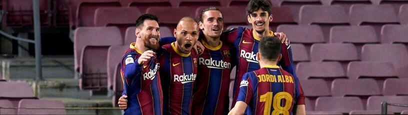 Ratunek przyszedł w ostatniej chwili. Barcelona zagra o trofeum