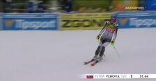 Vlhova liderką po 1. przejeździe slalomu w Jasnej