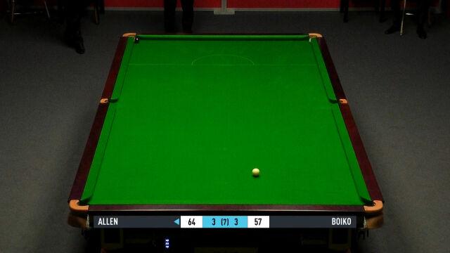 Niesamowita końcówka meczu Boiko - Allen w 2. rundzie Gibraltar Open