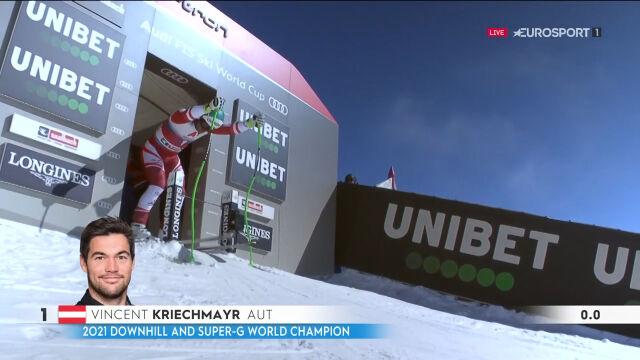 Kriechmayr wygrał zjazd w Saalbach