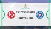 Skrót meczu RW Essen – Holstein Kiel w ćwierćfinale Pucharu Niemiec