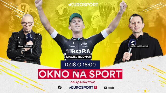 """Maciej Bodnar był gościem """"Okna na sport"""""""