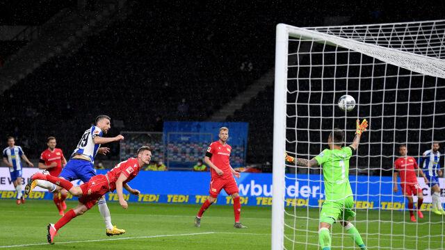 Hertha znów zabójcza po przerwie. Piątek znów tylko z ławki