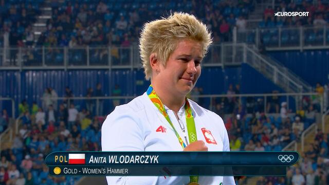 Włodarczyk ze złotym medalem igrzysk olimpijskich w Rio de Janeiro