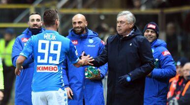 Ancelotti zdjął Milika i już chwilę potem tego pożałował