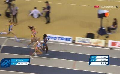 Justyna Święty-Ersetic awansowała do finału biegu na 400m