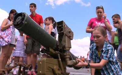 Broń separatystów skończyła jako muzealny eksponat