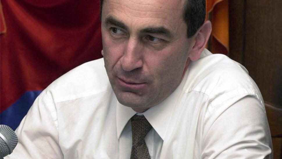 Były prezydent Armenii aresztowany
