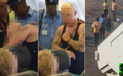 """Polak w kajdankach wyprowadzony z samolotu w Kenii. """"Awanturował się i groził"""""""