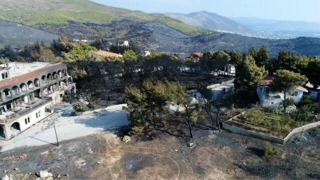 Reuters: zarzuty dla 20 osób  po tragicznych pożarach w Grecji