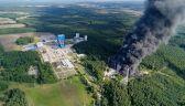 Płonie składowisko odpadów chemicznych