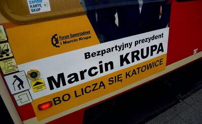 Marcin Krupa w kampanii bardzo podkreślał swoją niezależność