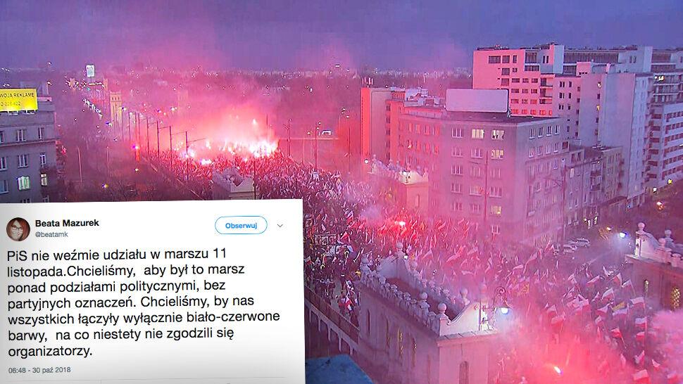 PiS nie weźmie udziału w marszu 11 listopada