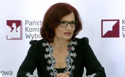 Sekretarz Państwowej Komisji Wyborczej Magdalena Pietrzak