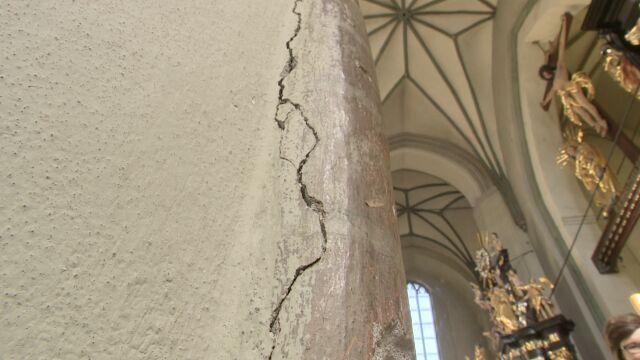 """Gdańska bazylika św. Mikołaja zamknięta do odwołania. """"Grozi nam katastrofa budowlana"""""""