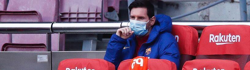 """Messi znowu nie zagra w Lidze Mistrzów. """"Dla niego nie jest to normalne"""""""
