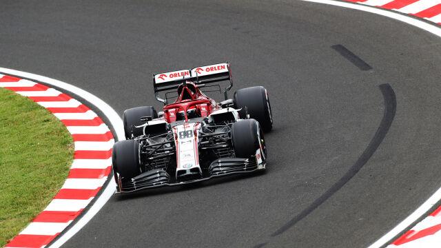 Vettel najlepszy w deszczu, wcześniej dominowały Mercedesy. Kubica daleko