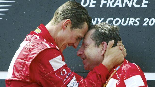 """Były szef Ferrari odwiedził Schumachera. """"Mam nadzieję, że świat znów go zobaczy"""""""