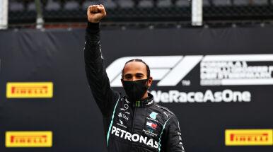 Hamilton atakuje Ferrari za brak zaangażowania w walkę z rasizmem.